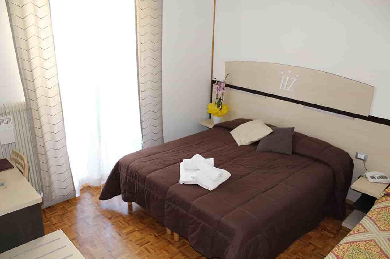 Zodiaco hotel camere comfort - Letto alla tedesca ...